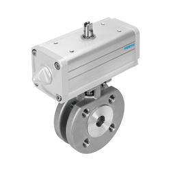 Ball valve actuator units VZBC