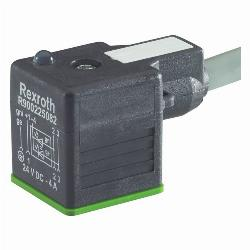 rexroth PLUG-IN CONNECTOR 4P Z14L PE180° 5M 24V
