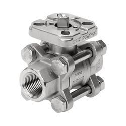 Ball valves and ball valve actuator units VZBA