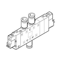 Festo CPE24-M3H-5/3G-QS-10